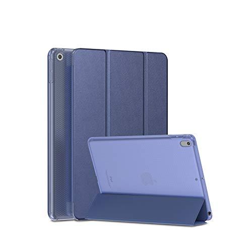 SmartDevil Funda para iPad 9,7 Pulgadas 2018/2017, Funda para iPad 6 / Funda para iPad 5 con Auto-Sueño/Estela y Soporte, Ligera Carcasa para el iPad 6/5 Generación con Tapa Inteligente, Azul