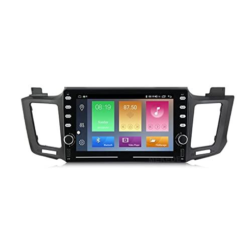 LYHY Android 10.0 Head Unit Radio Touchscreen Compatibile con Toyo-Ta RAV4 2013 Schermo autoradio da 8 Pollici con Bluetooth Lettore mp5 Supporto Video multimediale Navigazione GPS