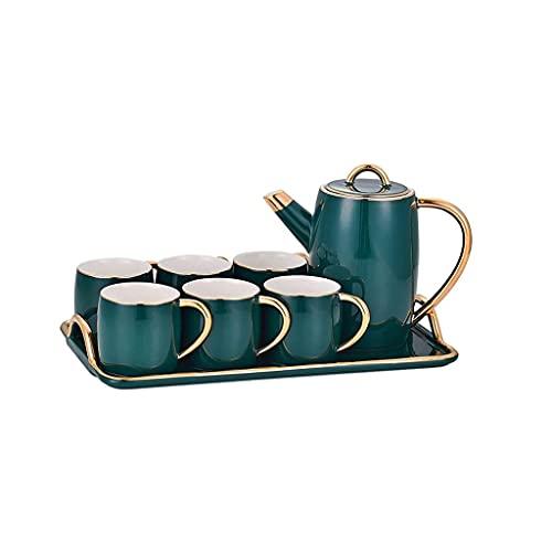 SHYPT Conjunto de Taza de café Conjunto de té Coffee Kettle Cumpleaños Regalos de Boda de Navidad