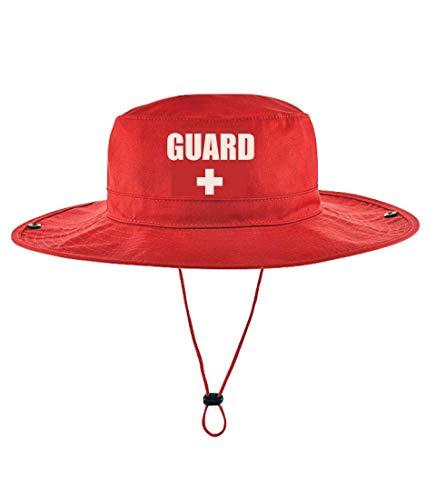 Guard Red Safari Hat for Men & Women (Large)