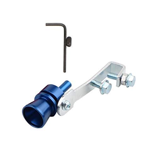FeMereina Turbo Whistle, Simulador de Válvulas Accesorios / Silbato para Tubos de Escape de Coches Turbo Sound Whistle (Azul , XL)