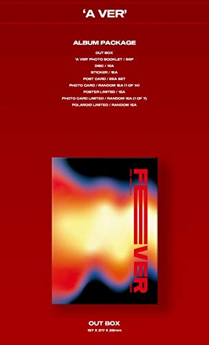 KQ Entertainment ATEEZ - ZERO : FEVER Part.2 (6th Mini Album) Album+Folded Poster+Extra Photocards Set (A ver.)