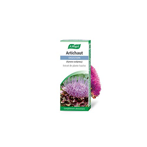 A. VOGEL Artichaut Food Supplement with Plant Extract Targeted Actions for Digestion 50 ml Bottle Swiss Laboratory