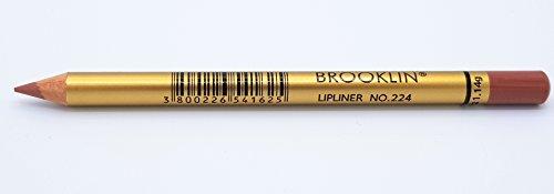 Brooklin Crayon à Lèvres Nude 224 Imperméable Longue Durée