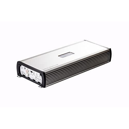 American Bass PH 4000 V2 Micro Class D Technology 4 Channel 4000 Watt Sound Process Car Audio Amplifier with Light Up Manufacturer's Logo