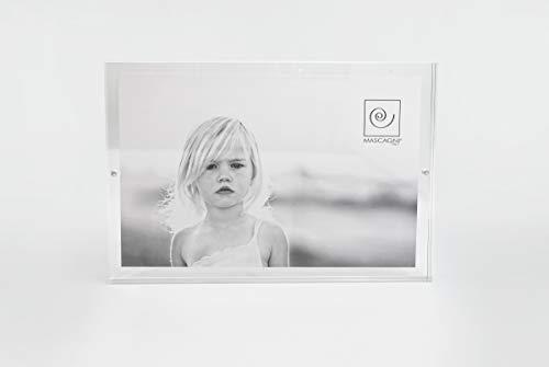 Mascagni M215 Portafoto in Acrilico Trasparente 20x30
