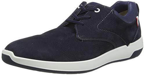 LLOYD Herren Achilles Sneaker, Blau (Midnight/New Ocean 4), 43 EU