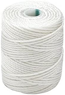 C-LON Tex 400 Heavy Weight Bead Cord, White - 1mm, 39 Yard Spool