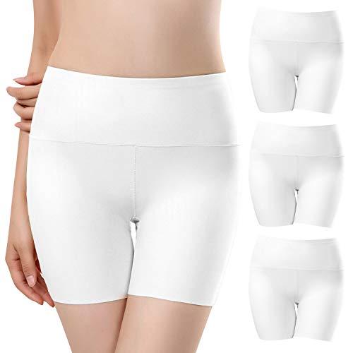 UMIPUBO Bragas Mujer Sin Costura Boxer Short Leggings Cortos Basic Long Pantalon Falda Leotardos de Seguridad...