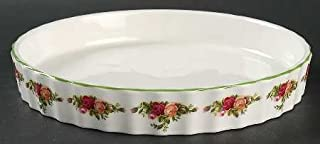 Old Country Roses Royal Albert Quiche/FLAN Baker -24CM - UK Made