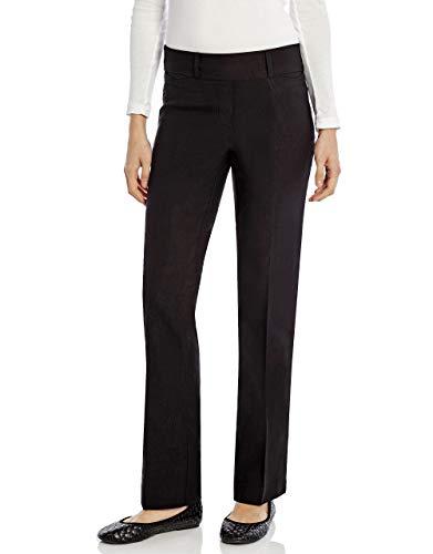 Leveret Women'Boot Cut Pants' (14, Black)