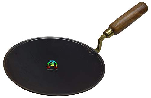 11 inch Indian Roti Iron Tawa Taper Border Pan For Chapati Bread Cooking Utensil Griddle Tava