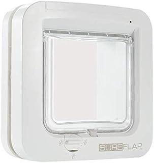 SureFlap – Sure Petcare Microchip Cat Flap, White, Scans Pet's ID Microchip on Entry