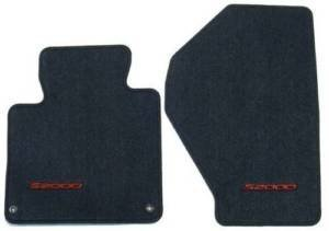 Honda Genuine 83600-S2A-A01ZA Floor Mat Set, Graphite Black