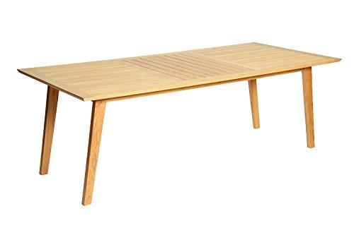 Acamp Tisch aurora Teak, Maße: 220 x 100 x 75 cm