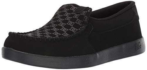 DC Men's Villain 2 Skate Shoe, Black, 7 D M US