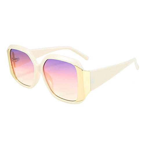 LUOXUEFEI Gafas De Sol Gafas De Sol Cuadradas Mujeres Al Aire Libre Hombres Gafas De Sol
