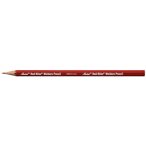 Markal 96100 Riter Welders Pencil, Red (Pack of 12)