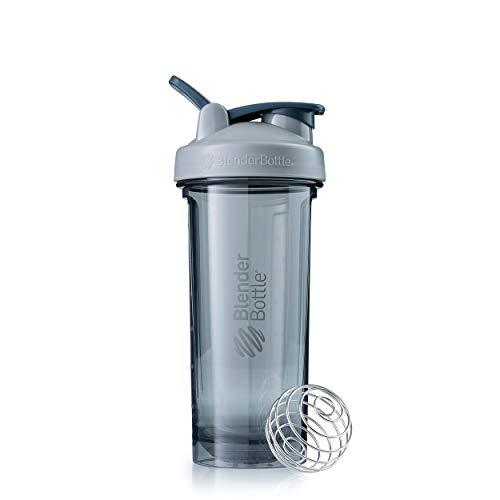 BlenderBottle Pro32 Botella de Agua | Botella mezcladora de Batidos de proteínas | con batidor Blenderball | Libre de BPA