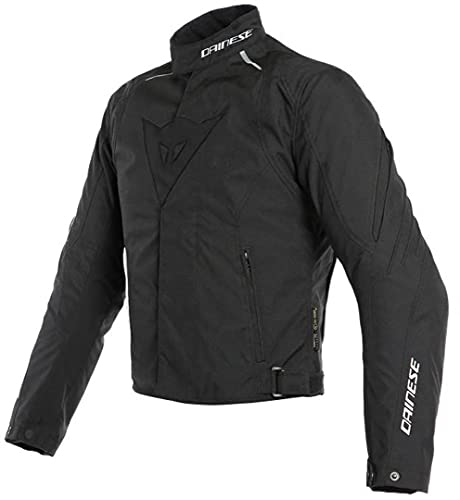 Dainese 1654614_691_56 Laguna Seca 3 D-Dry Jacket Chaqueta Moto, Negro, 56 EU