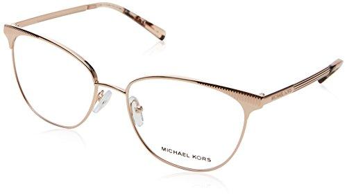 Michael Kors MK3018 Rose Gold/Clear Lens Eyeglasses