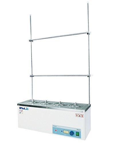 Witeg seriewaterbad WEB-4 4 plaatsen Ø110 mm 100 °C, inclusief dekselset en frame, ideaal voor extractie, soxhlet-extractie en COD-bepaling