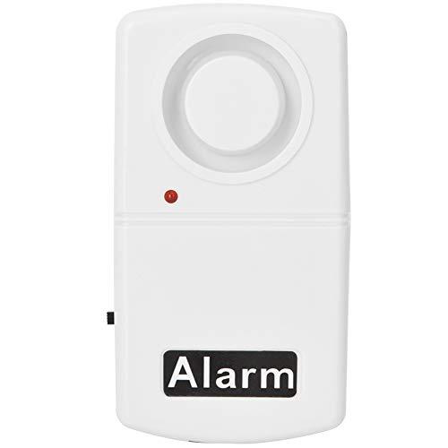 120dB Sensor de Alarma de vibración de Seguridad inalámbrica, Ventana de Puerta Alarma antirrobo Sensor de Puerta Ventana para Casas, automóviles, cobertizos, autocaravanas