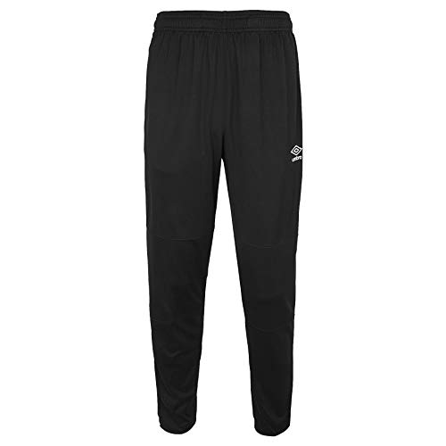 Umbro Unisex-Erwachsene Double Diamond Interlock Pant Jogginghose, schwarz, Large