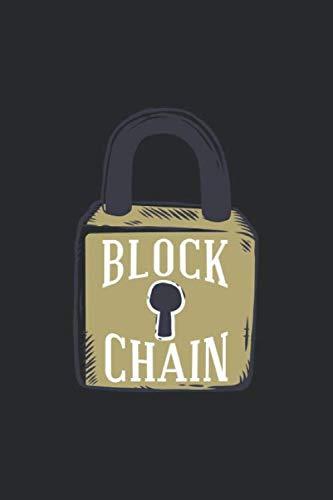 BLOCK CHAIN: Punktraster Notizbuch - 120 Seiten - Für Familie, Freunde, Kollegen - Bitcoin und Blockchain - Cryptowährungen - Buchcover