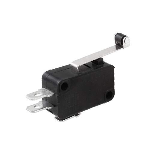 X-DREE Interruptor de botón alto rendimiento pulsador eléctrico 1NO esencial 1NC de...