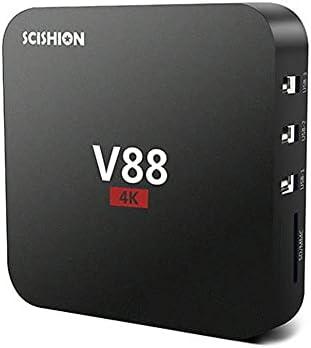Leepsom V88 Smart Tv Set-top Box Player 4k Quad-core 2G+16Gb WiFi Media Player Tv Box Smart HDTV Box Home Theater
