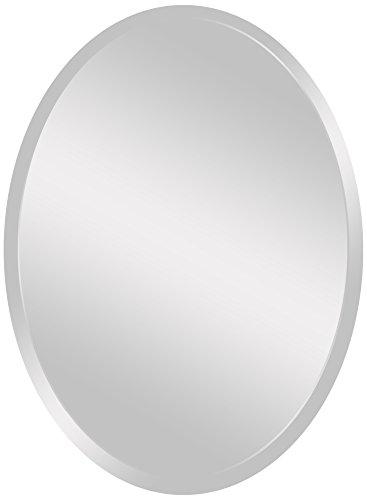 "Spancraft Glass 206-2230 Oval Beveled Mirror, 22"" x 30"""