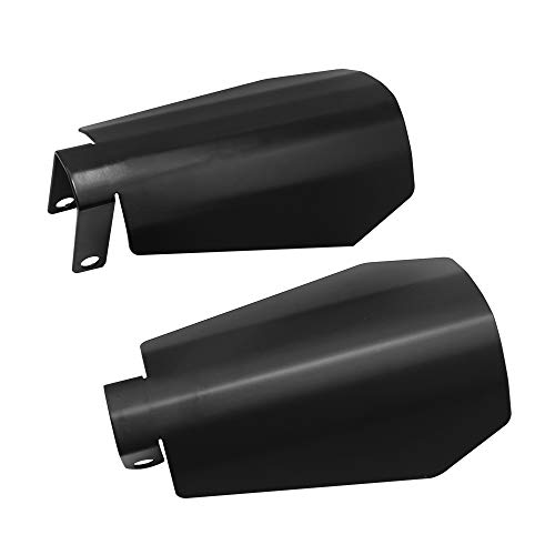 1 Pair Large Motorcycle Handguards Coffin Cut Hand guards Fit for 2007-2020 Harley Davidson Touring Sportster Dyna