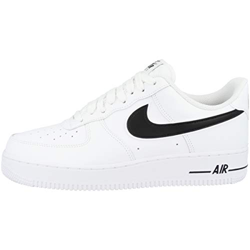 Nike Air Force 1 '07 3, Scarpe da Basket Uomo, Bianco (White/Black 101), 43 EU