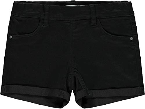 NAME IT Mädchen Nkfsalli Twitinna Af Noos Shorts 158/13 Jahre