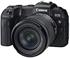 Canon EOS RP Full-frame Mirrorless Interchangeable Lens Camera + RF24-105mm lens F4-7.1 IS STM Lens Kit-- Compact and...