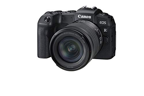 Canon EOS RP Systemkamera - mit Objektiv RF 24-105mm F4-7.1 is STM (26,2 MP, 7,5 cm (3 Zoll) Clear View LCD II Display, 4K, DIGIC 8 Bildprozessor, WLAN, Bluetooth, Vollformat-Sensor) schwarz