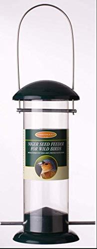 MALTBYS' STORES 1904 LTD STANDARD ALL METAL WILD BIRD NIGER SEED FEEDER