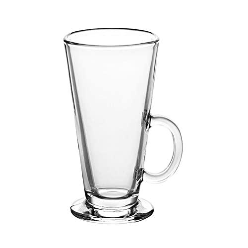 BaoYPP Mini Taza de Postre Color sólido Creativo Taza Linda Copa de Vidrio de una Sola Capa Tazas de Jugo de Bebida General para Jugo de Leche Reutilizable (Color : Clear, Size : 1pcs)