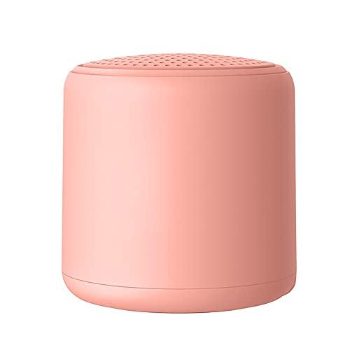 Altavoz Bluetooth, Altavoz Estéreo Portátil, Potente Efecto De Triple Bajo, Tiempo De Reproducción A Prueba De Agua 24 Horas con Alimentación Móvil Y Manos Libres (Color : Pink)