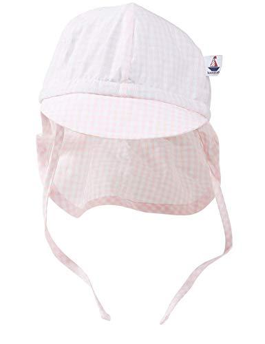 Hansekind Sommermütze mit Nackenschutz, rosa für Kinder und Babys, Mädchen