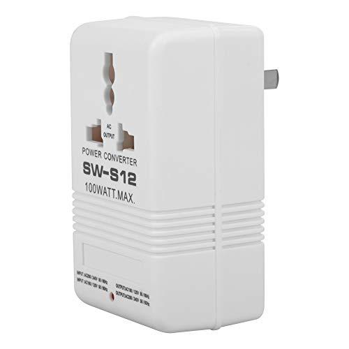Convertidor de voltaje 100W 110V / 120V a 220V / 240V Transformador de transformador de voltaje hacia arriba y abajo (enchufe estándar CN)