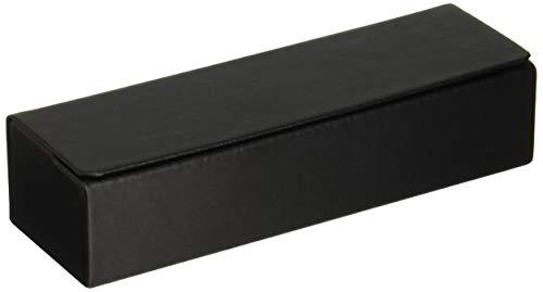 テーシーケース メガネケース 黒 ハード マグネット式 四角 HYS-7-2