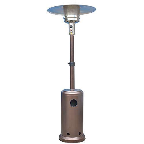 CHARON Comercial Patio Calentador Calentador De Gas Licuado, Estufas Exteriores para Terraza 5 Kw-13 Kw, El Vertido De ProteccióN De Seguridad,Liquefied Gas