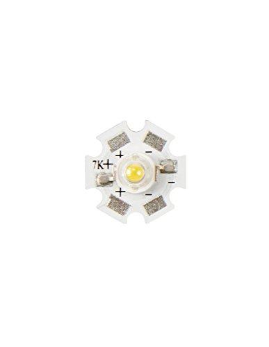 LED DE PUISSANCE - 3 W - BLANC CHAUD - 210 lm