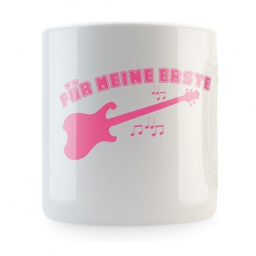 Mikalino Für Meine erste Gitarre Spardose, Druckfarbe:rosa