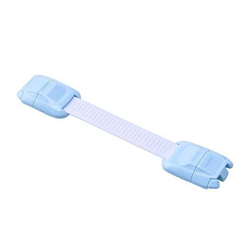 Jun7L Produits de sécurité for bébé Serrures Auto-adhésif bâton sur Rangements Cuisine Portes Armoires Tiroirs Réfrigérateur Closet6 Pcs ( Color : Blue A )
