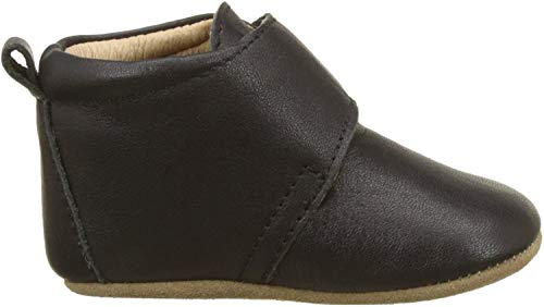 Bisgaard Unisex Baby Velcro Star Pantoffeln, Schwarz (50 Black), 22 EU