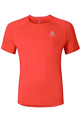 Odlo Crio T-Shirt pour Homme, Tomate de Cerise, m