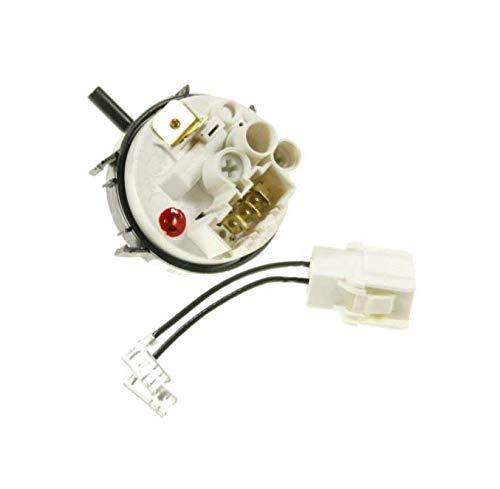LUTH Premium Profi Parts Caja de presión del interruptor apta para el lavavajillas Miele 7856352 3369961 5380852